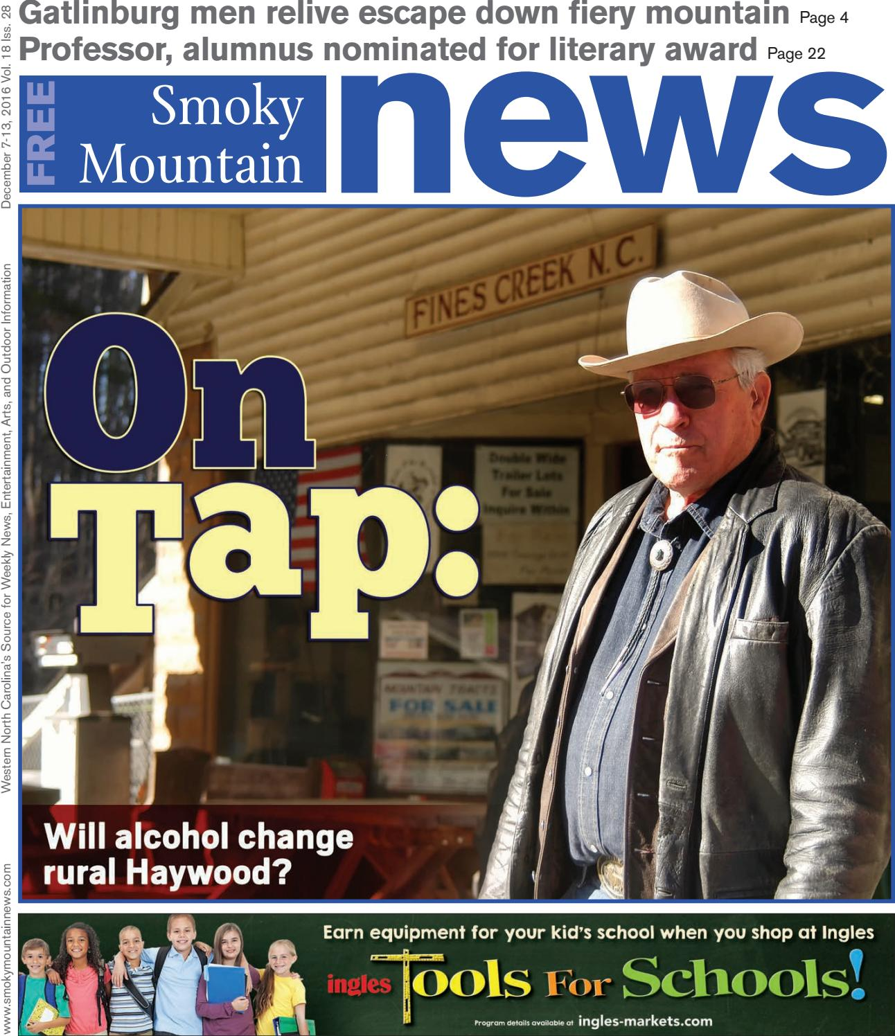 SMN 12 07 16 by Smoky Mountain News - issuu
