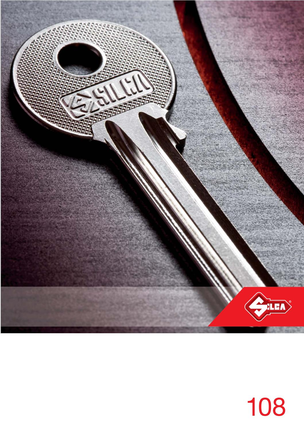 CB6R SILCA Corbin Key Blanks Pack 10 Quantity