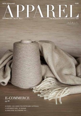 a96896c8022 Apparel Magazine    November 2016 by Review Publishing Ltd - issuu