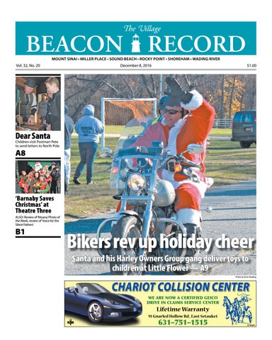 a306526e675 The Village Beacon Record - December 8, 2016 by TBR News Media - issuu