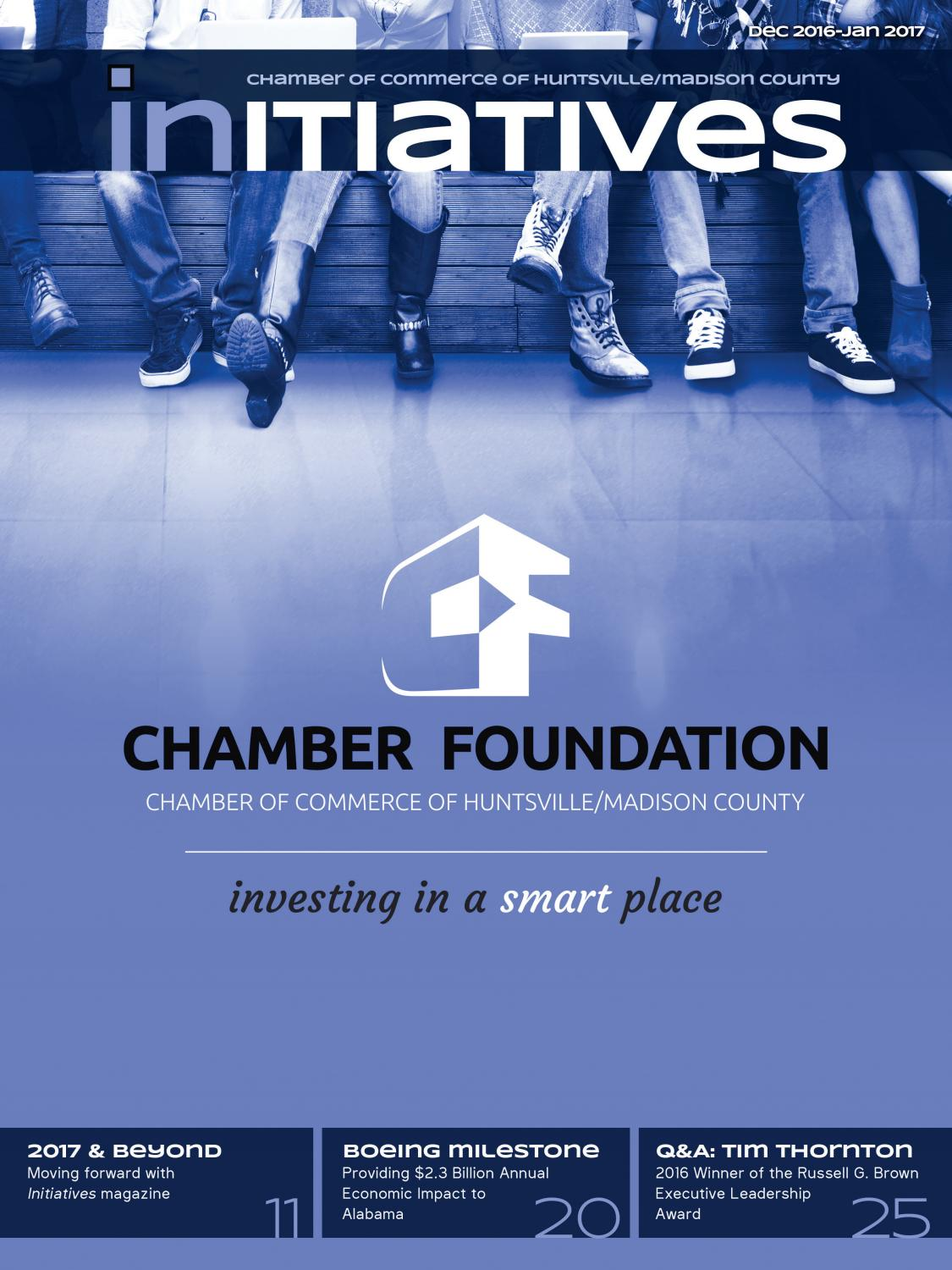 Initiatives magazine, December 2016-January 2017 by Chamber of ...