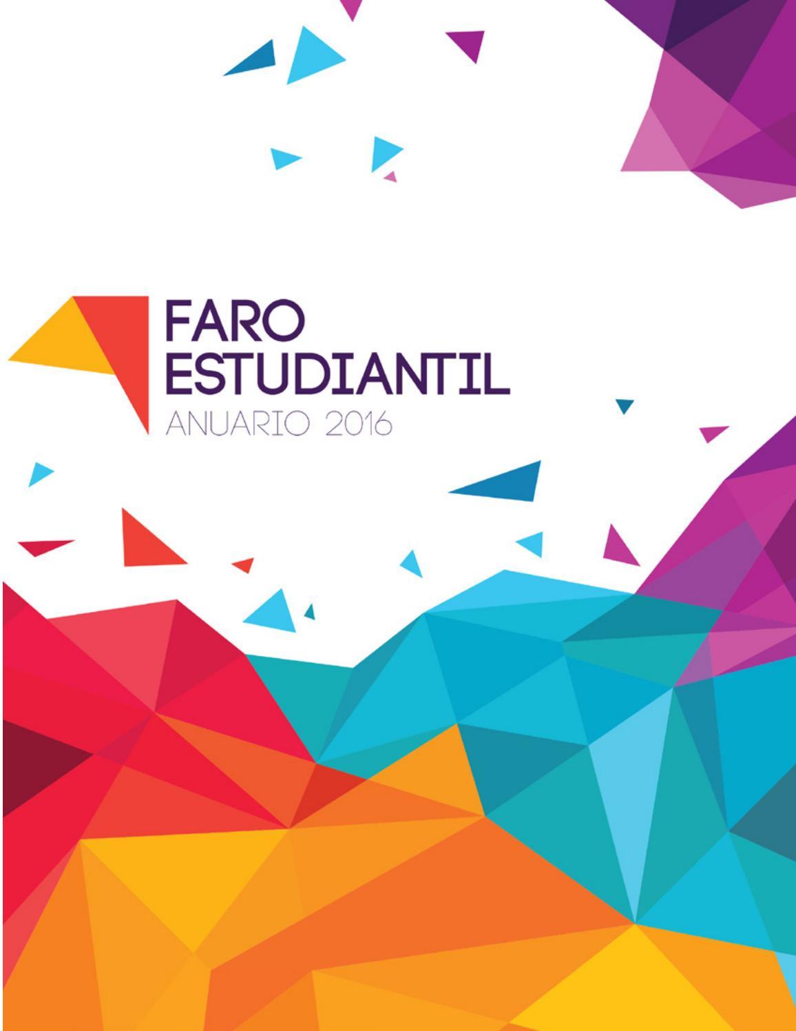 Revista Faro Anuario 2016 By Isa Perez Diseno Editorial Issuu