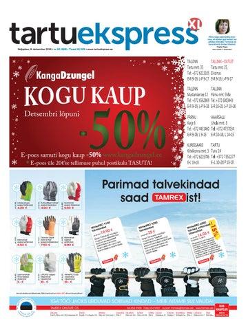 d7bb0361fcc Tartu Ekspress, 8.12.2016 by Tartu Ekspress - issuu