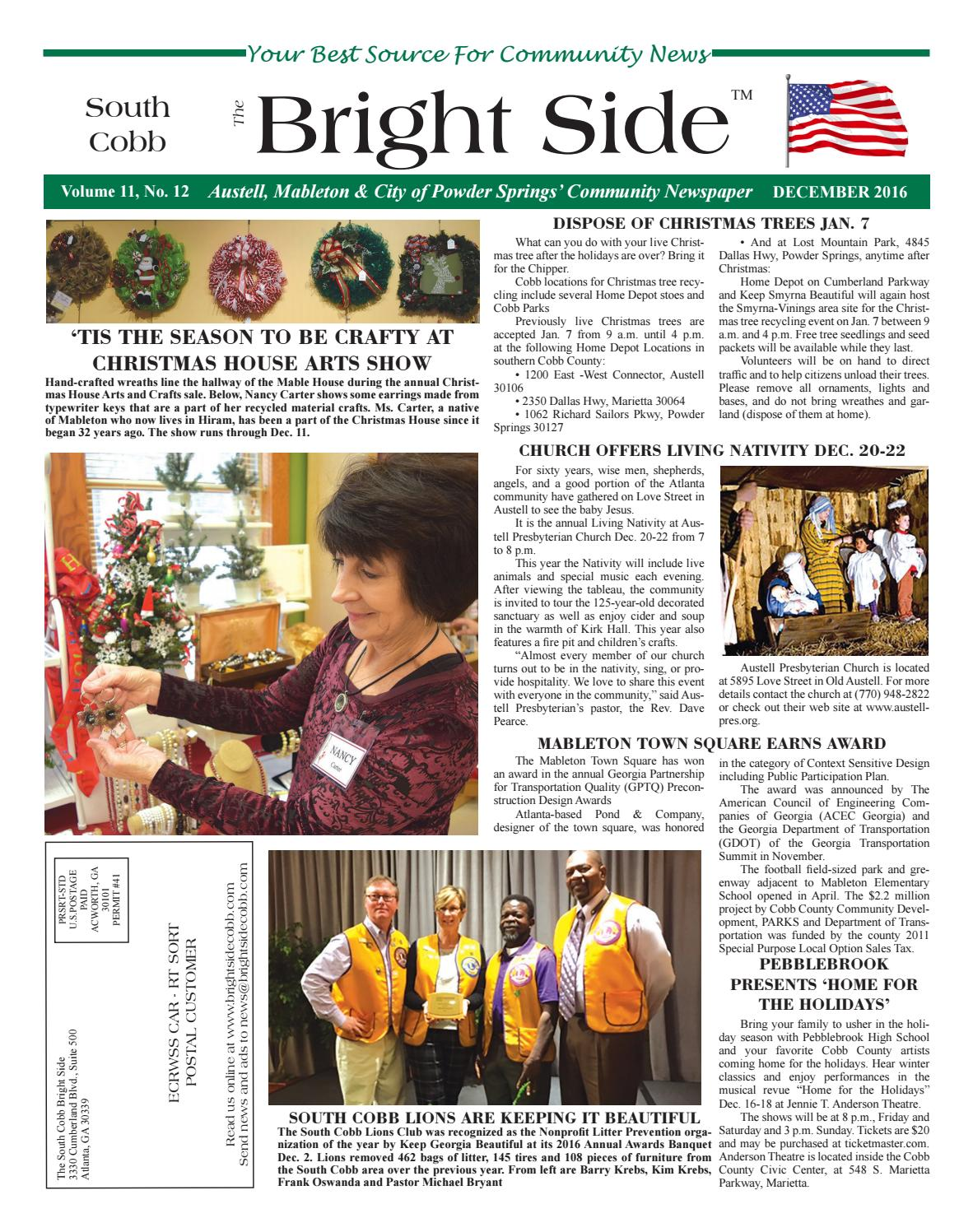 The bright side south cobb december 2016 by allan lipsett issuu 1betcityfo Images