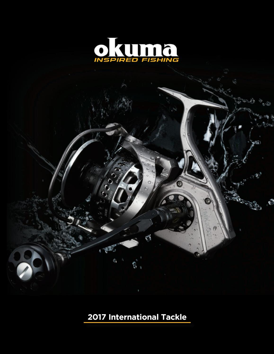 Okuma Ceymar White C-65 Fixed Spool Reel