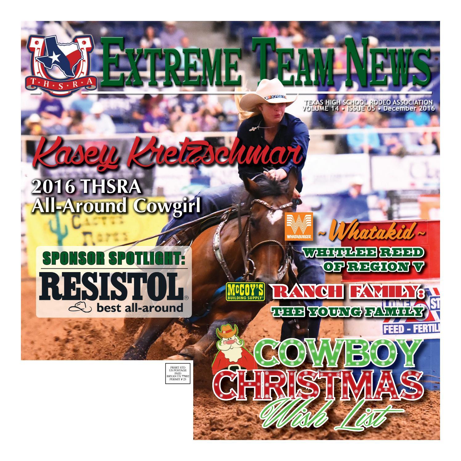 December 2016 Extreme Team News Official News Of Texas