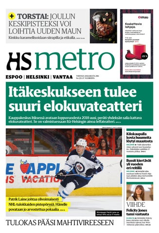 20161208 fi helsinki by metro finland - issuu 87ea3f8104