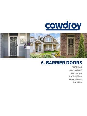 BARRIER DOORS SUPERIOR BIRCHGROVE FEDERATION PADDINGTON HARRINGTON BALMAIN  sc 1 st  Issuu & Cowdroy catalogue - Section 6 barrier doors by Alchin Long Group - issuu
