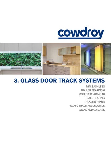 Cowdroy Catalogue Section 3 Glass Door Track Systems By Alchin