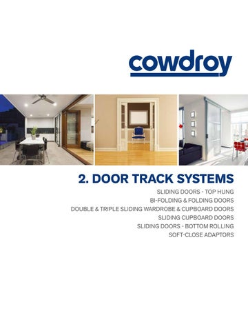 Cowdroy Catalogue Section 2 Door Track Systems By Alchin