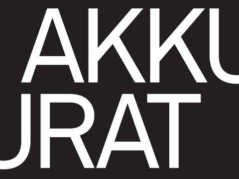 Akkurat—Digital Type Specimen by Jami Rubin - issuu