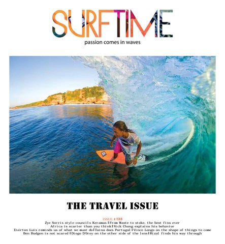surftime magazine vol 18 no 1 issue 105 by surftime magazine