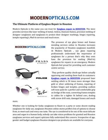 5d850ba6b6 The ultimate platform of eyeglass repair in houston by ...
