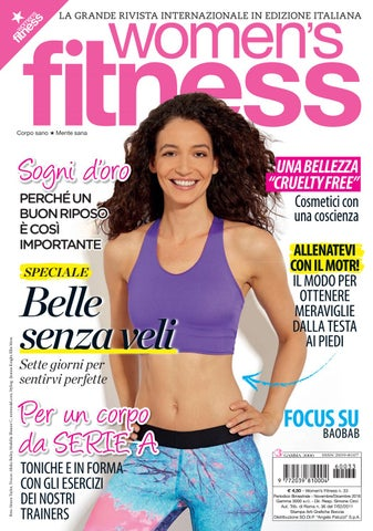 Womens Fitness Italia Igloo Review Novembre Dicembre 2016 By Igloo