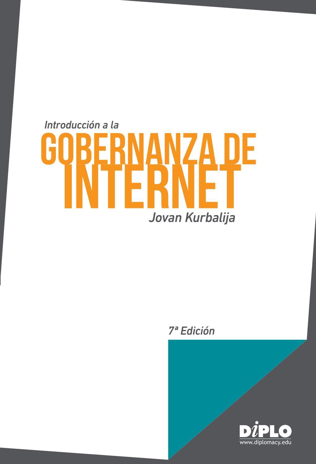 Introducción a la gobernanza de Internet 7ª Edición by ...