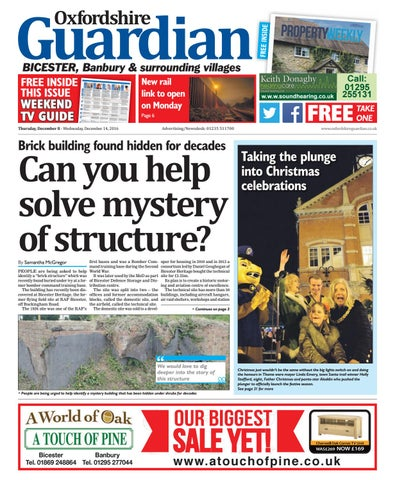 08 december 2016 guardian bicester by taylor newspapers issuu free inside fandeluxe Gallery