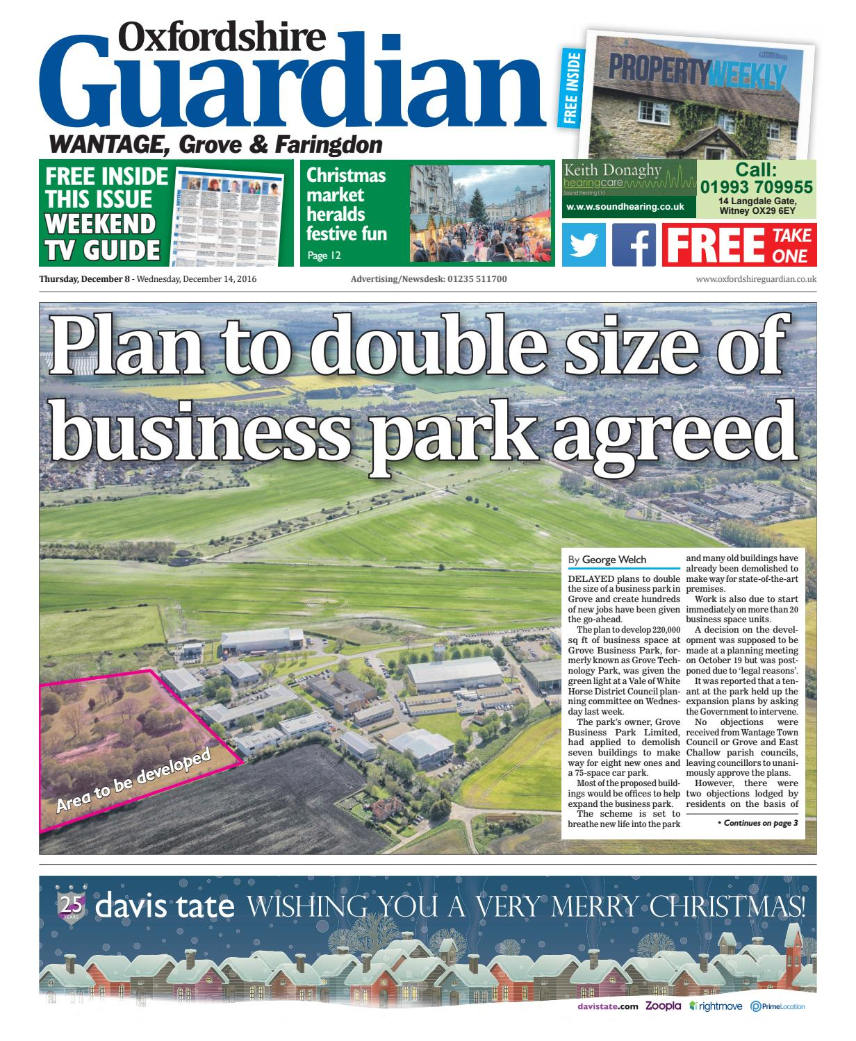08 December 2016 Guardian Wantage By Taylor Newspapers Issuu Tiket Genting Dream Cruise Special New Year Dep 30 2018