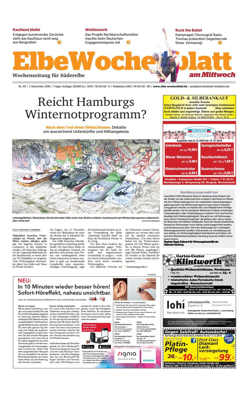 Süderelbe KW49-2016 by Elbe Wochenblatt Verlagsgesellschaft mbH & Co ...
