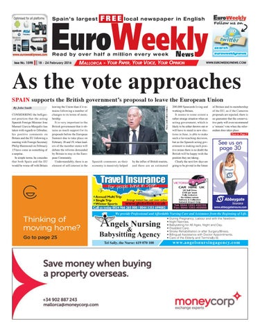 5dcec9b0e9c92 Euro Weekly News - Mallorca 18 - 24 February 2016 Issue 1598 by Euro ...