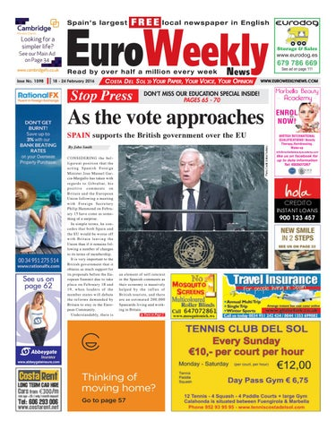 Euro Weekly News - Costa del Sol 18 - 24 February 2016 Issue 1598 by ... 1f2423427365