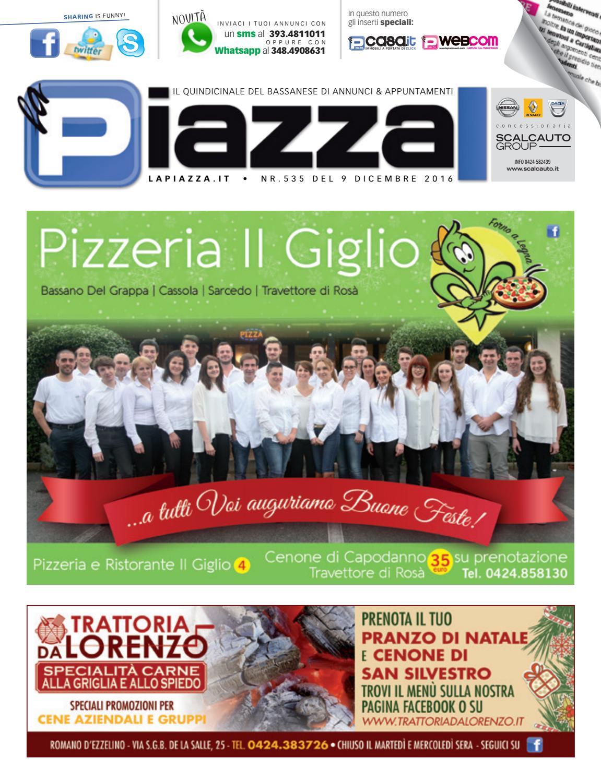 la Piazza 535 by la Piazza di Cavazzin Daniele - issuu 28218f267c49