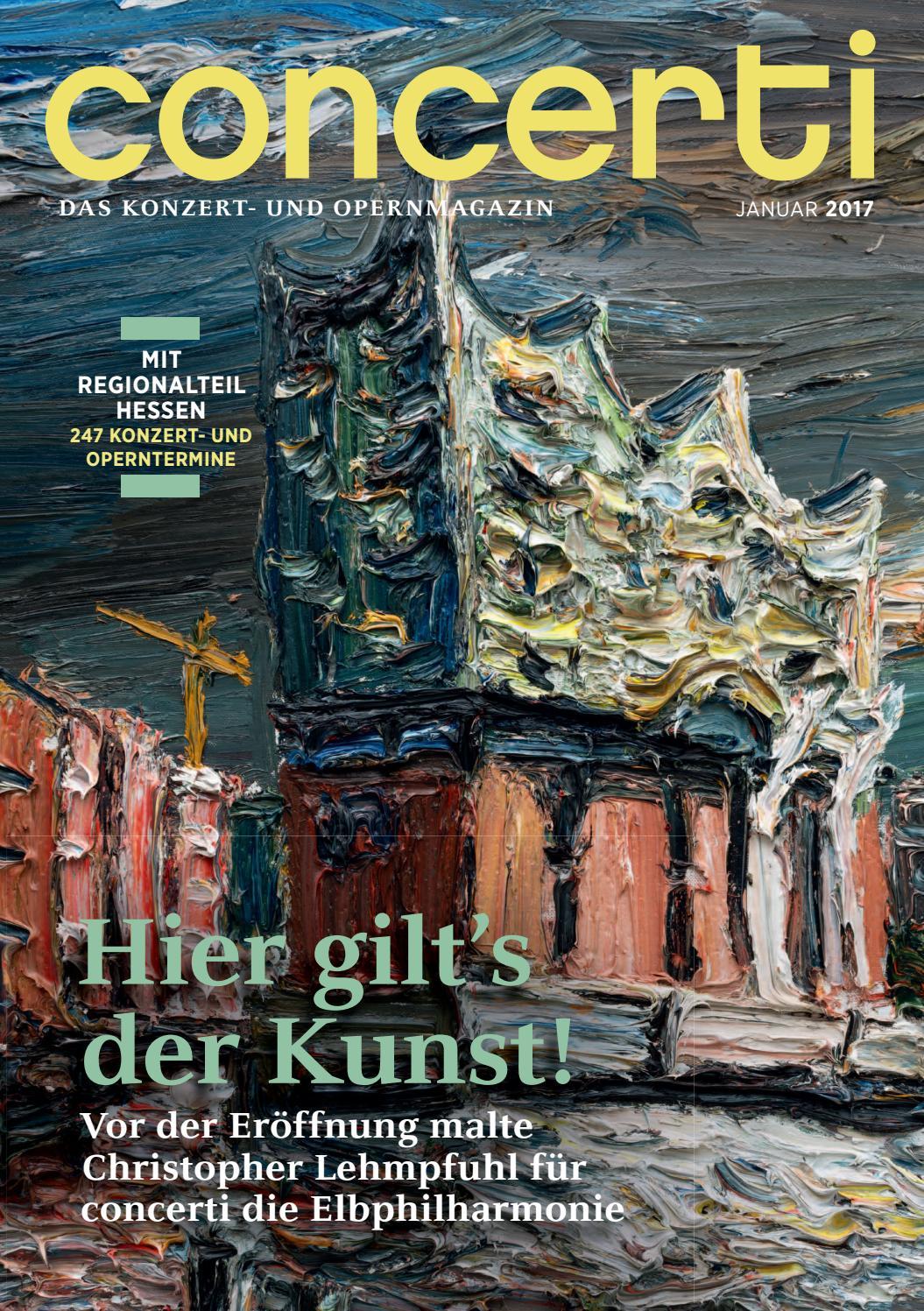 concerti Ausgabe Hessen Januar 2017 by concerti - Das Konzert- und ...