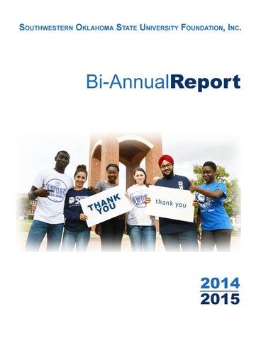 201415 swosu foundation biannual report by swosu