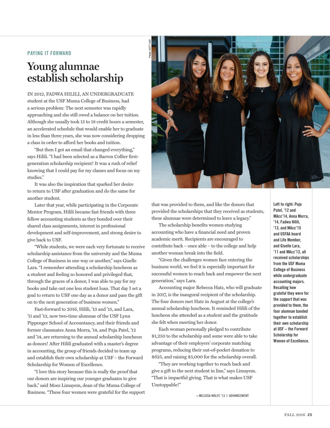 USF Magazine Online Edition - University of South Florida Muma College of Business 2017-08-06 10:18