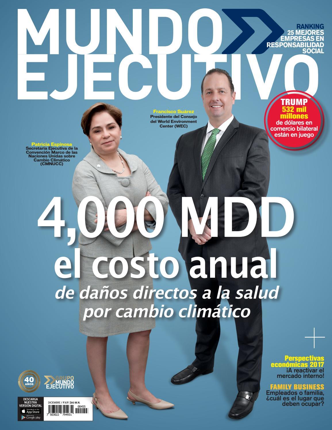 Mundo Ejecutivo Diciembre by Grupo Internacional Editorial - issuu