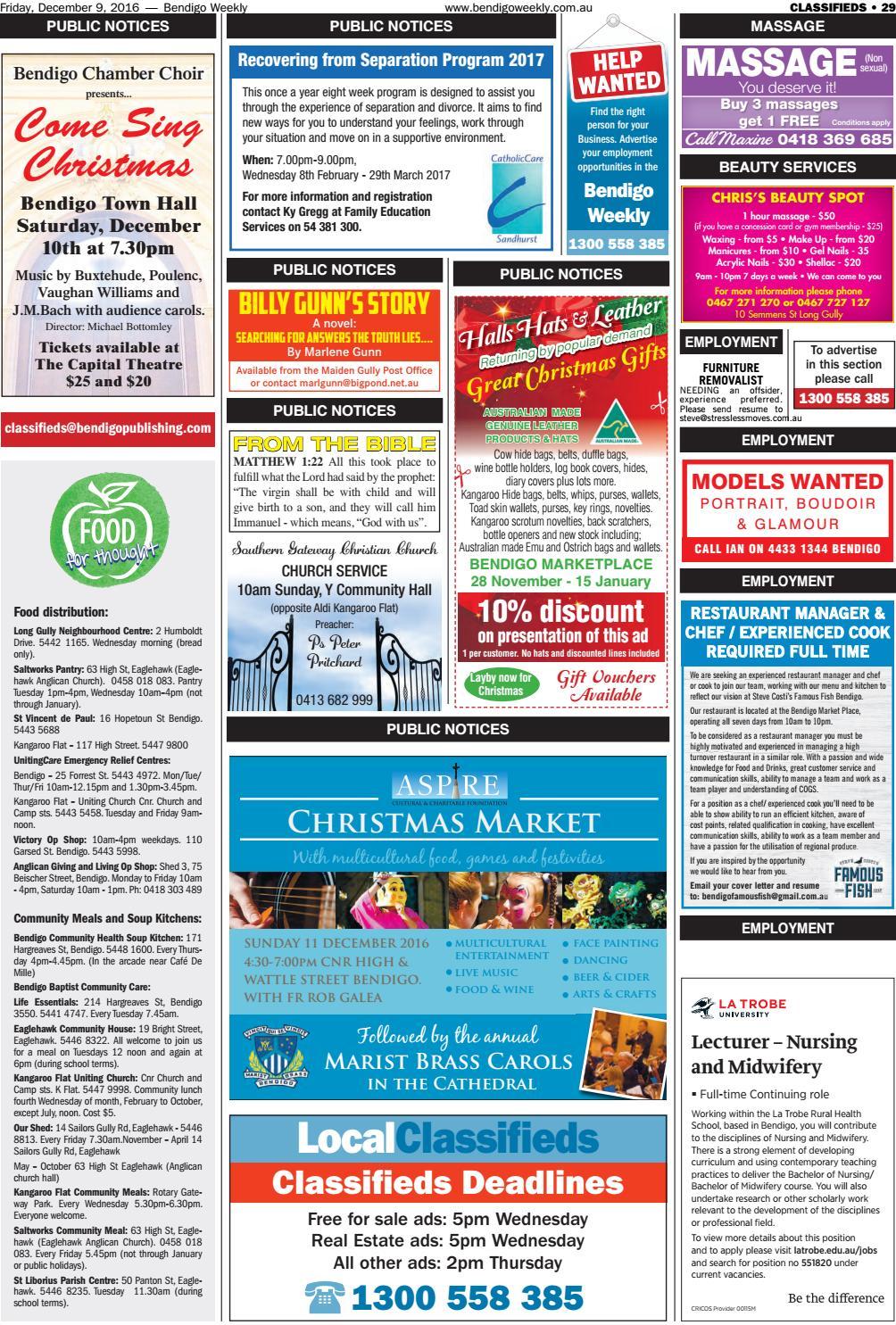 Bendigo Weekly 997 by Bendigo Weekly - issuu