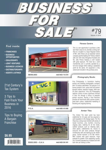 Issue 79 australian business for sale by australian business for page 1 fandeluxe Choice Image