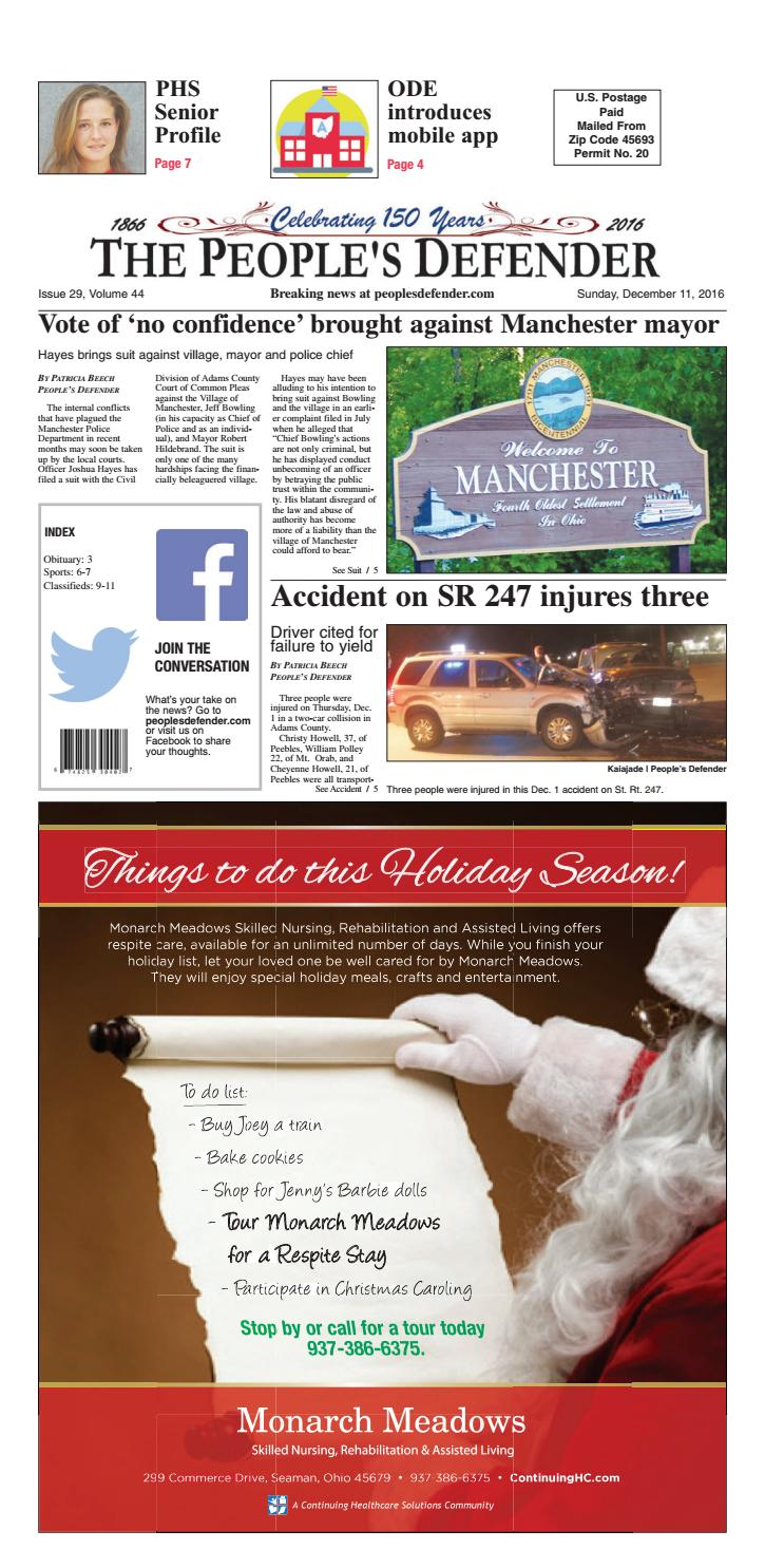 Pd sunday 12 11 16 by Clermont Sun Publishing Company - issuu