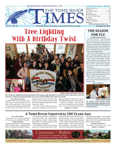 603fa23e7642 2016-12-10 - The Toms River Times by Micromedia Publications Jersey ...