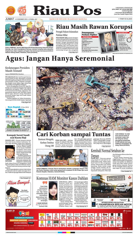 2016 12 09 By Riau Pos Issuu Celana Bahan Remaja Dik Ary Collection Bdg