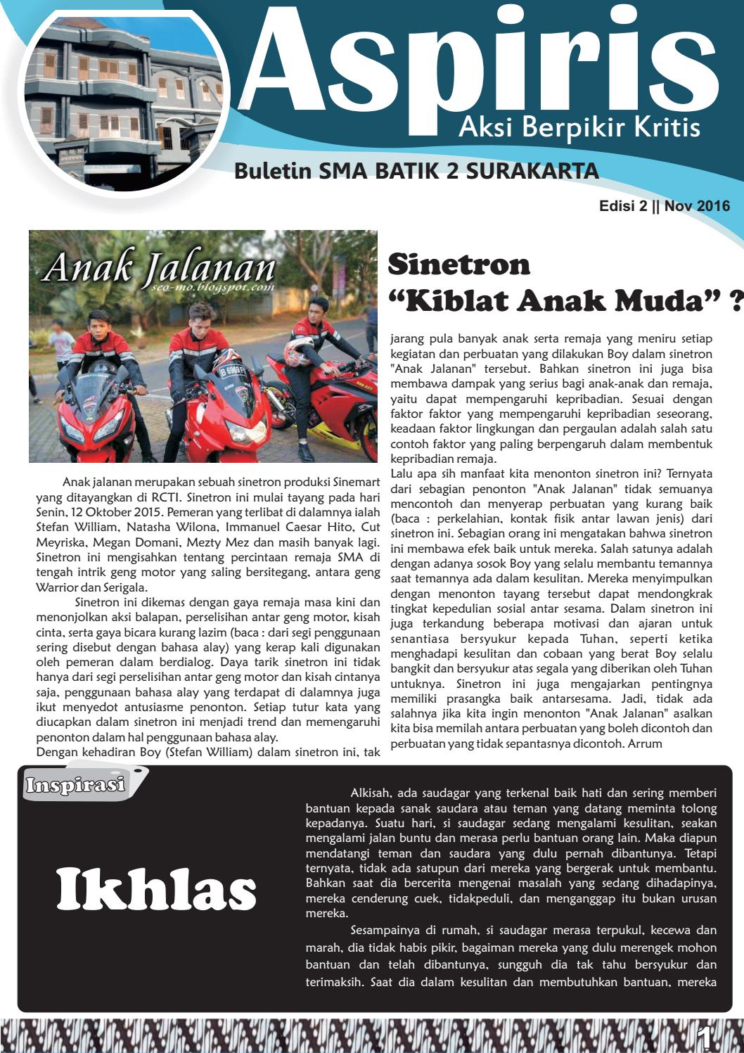 Aspiris Edisi 2 By Dadangyhanedy Issuu