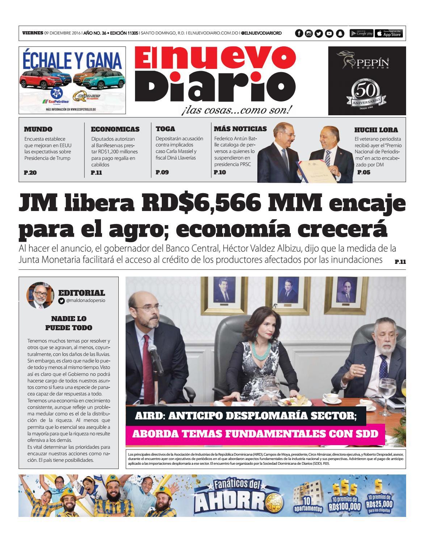 El Nuevo Diario By El Nuevo Diario Issuu # Wandy Muebles Villa Mella