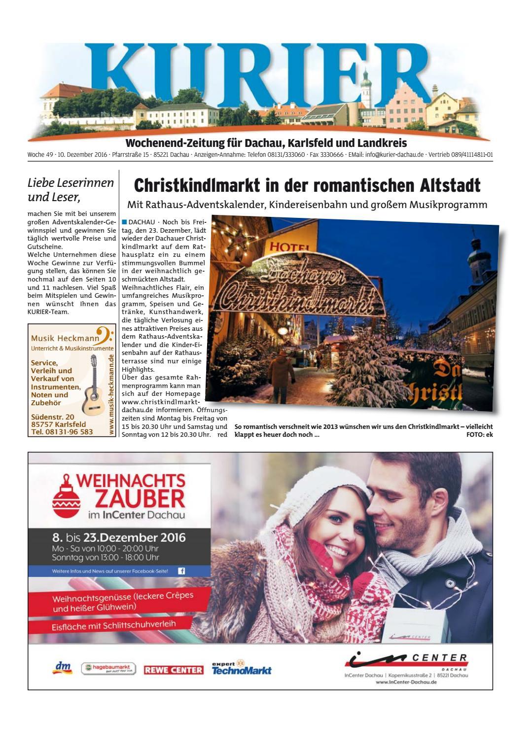 KW 49-2016 by Wochenanzeiger Medien GmbH - issuu