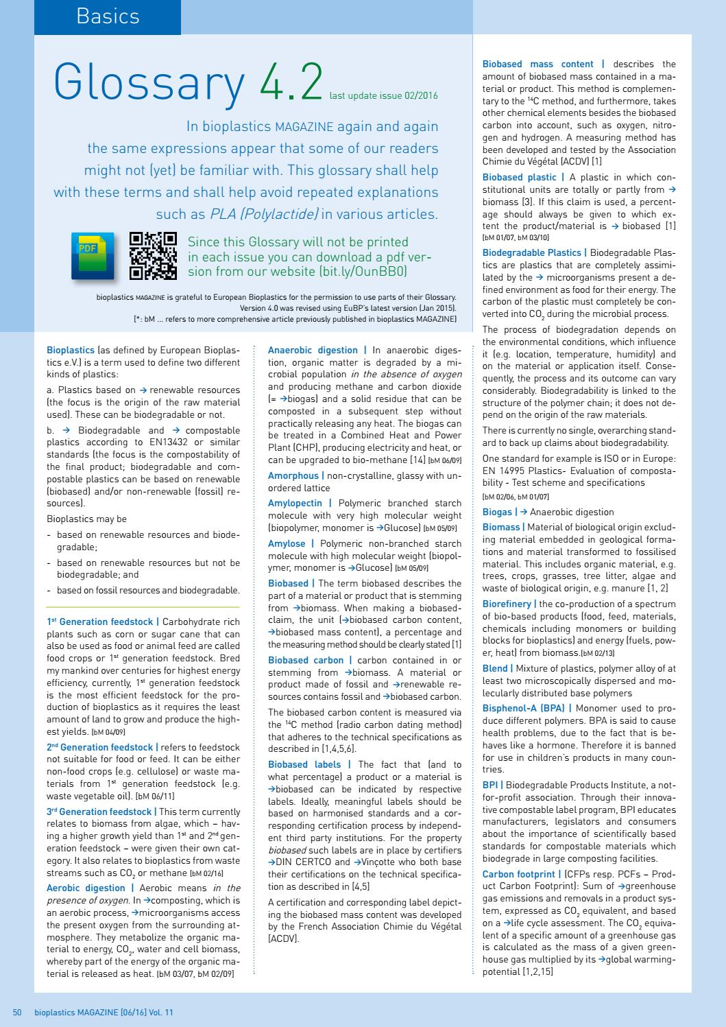 bioplastics MAGAZINE 06-2016 by bioplastics MAGAZINE - issuu