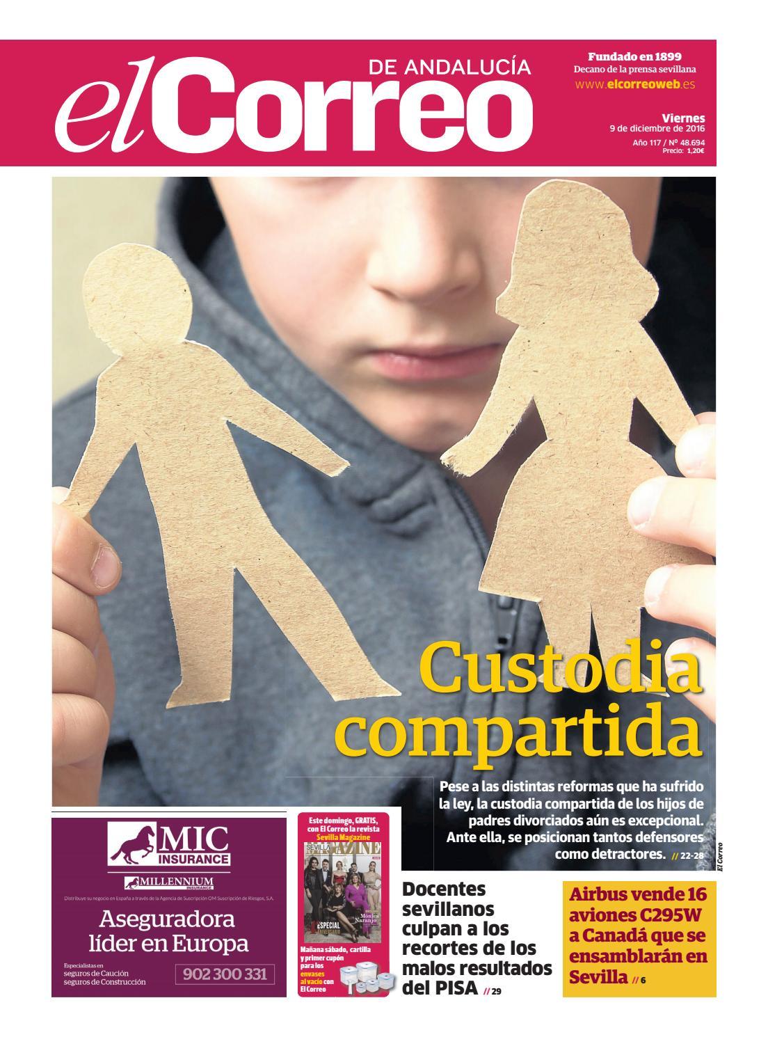 09 12 2016 El Correo de Andalucía by EL CORREO DE ANDALUCÍA S.L. ...