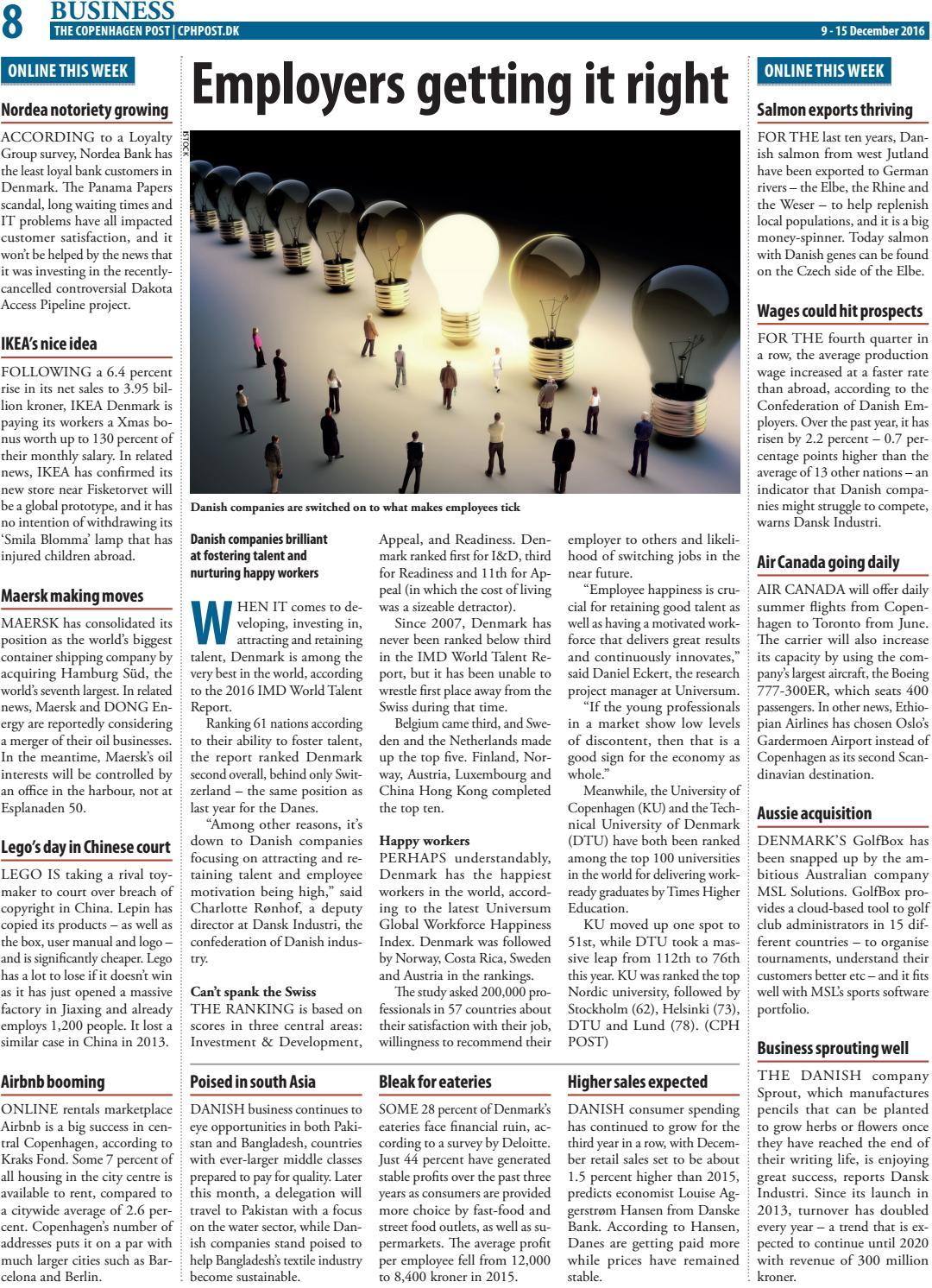 The Copenhagen Post, December 9 - 15 by The Copenhagen Post