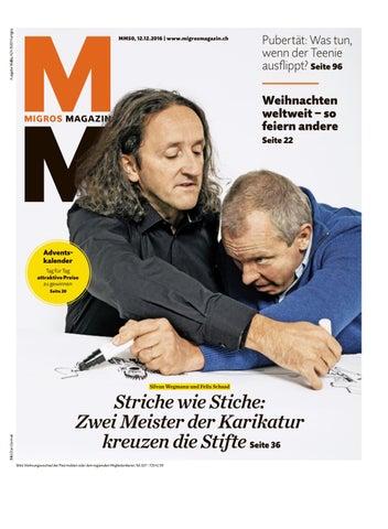 Migros magazin 50 2016 d vs by Migros-Genossenschafts-Bund - issuu