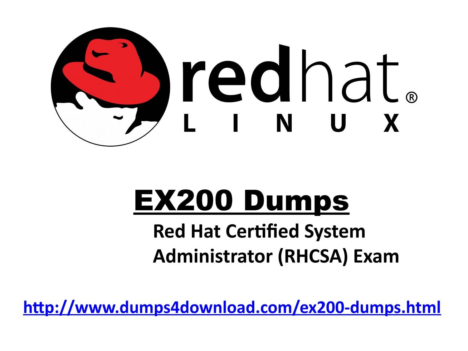 Free redhat ex200 exam sample questions by dumps 4 download issuu xflitez Images