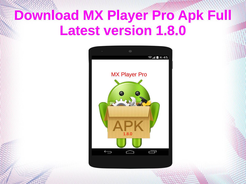 player pro apk
