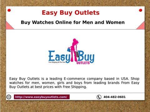 outlet watches online aexp  Easy Buy Outlets Buy Watches Online for Men and Women