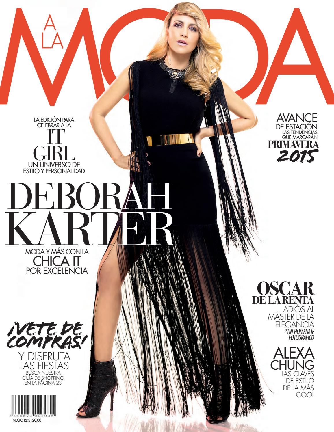 75cfc7f31 A la moda invierno 2014 by A la Moda - issuu