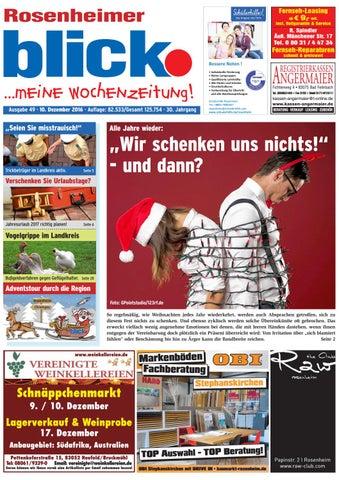 Rosenheimer Blick   Ausgabe 49 | 2016