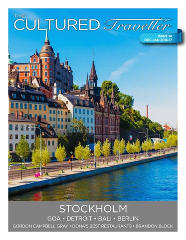 The Cultured Traveller December January 2016 17 Issue 14 By