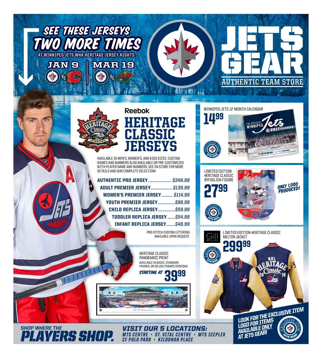 300c77a6 Jets Gear 2016 Holiday Gift Guide by Winnipeg Jets - issuu