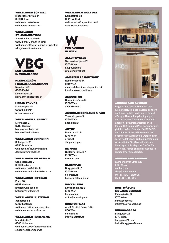 Biorama Eco Fashion Guide 2017 by BIORAMA - Magazine for ...