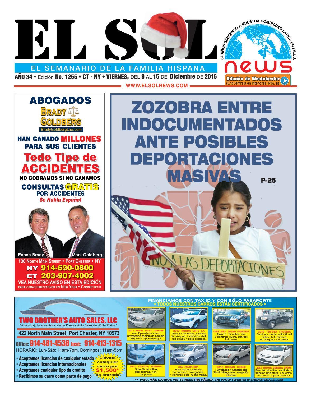 EL SOL News 1255 by EL SOL News - issuu
